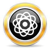 Atom ikona Obraz Royalty Free