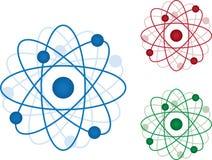 Atom-Ikone lizenzfreie abbildung