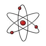 Atom Illustration Image libre de droits