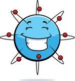 Atom-Lächeln Stockfotografie