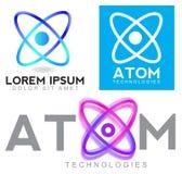 Atom logo Royalty Free Stock Photography