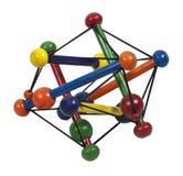 Atom Model Stock Image