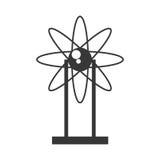 Atom molecule  icon Royalty Free Stock Photo
