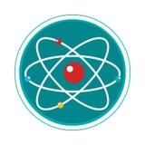 Atom molecule isolated icon. Vector illustration design royalty free illustration