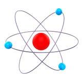 Atom Molecule Means Formula Chemical e ricerca Fotografie Stock Libere da Diritti