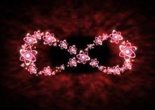 Atom nieskończoności symbol Zdjęcie Royalty Free