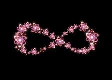 Atom nieskończoności symbol Zdjęcie Stock