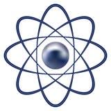 Atom part royalty ilustracja