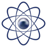 Atom part Royalty Free Stock Photo