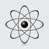 Atom part on white bakground. Stock Photography