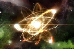 Atom Particle Illustration Libre de Droits