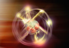 Atom Particle Photo libre de droits