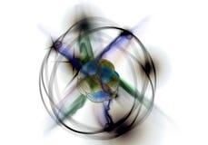 Atom Particle Photos libres de droits