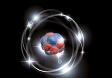 Atom Particle Photo stock
