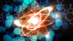 Atom Particle Royalty Free Stock Images