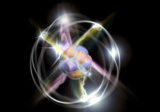 Atom Particle Stock Photos