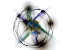 Atom Particle Royalty Free Stock Photos