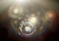 Atom Particle Royalty Free Stock Photography