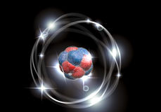 Atom Particle Stock Photo
