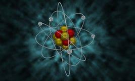 Atom Particle Illustration Photos stock