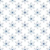 Atom pattern Royalty Free Stock Images