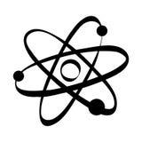 Atom science molecule Stock Photography