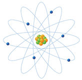 Atom structure Stock Photography