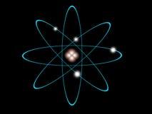 Atom- struktur royaltyfri illustrationer