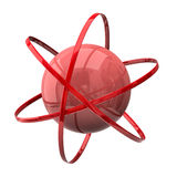 Atom symbol Stock Photography