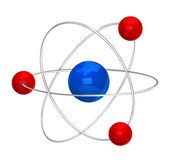 Atom symbol Royalty Free Stock Image