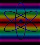 Atom symbol. Stock Image