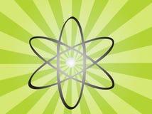 atom- symbol Arkivbilder