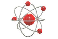Atom tolkning 3D Fotografering för Bildbyråer