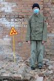 atom- turist Royaltyfri Bild