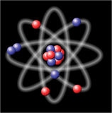 Atom - vector illustration Stock Photography