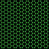 Atomanschlußhintergrund Stockfoto