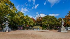 Atombomben-Denkmal-Hügel Lizenzfreies Stockfoto