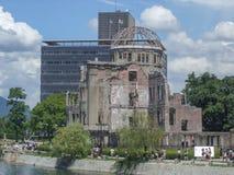 Atombombkupol i Hiroshima Arkivfoton