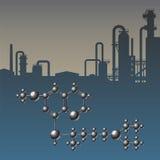 Atombransch Royaltyfria Bilder