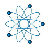 Atome illustration stock