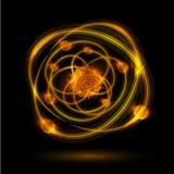 Atome abstrait illustration libre de droits