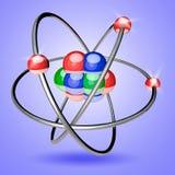Atome 3d Images libres de droits