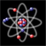 Atome - illustration de vecteur Photographie stock