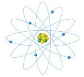 Atomen Stock Foto