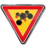 Atomen en chemie Royalty-vrije Stock Foto's