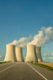 Atomenergie-Schaltplan Stockbilder