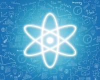 Atomenergieikone Stockbilder
