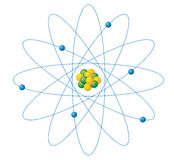 atomes Photo stock