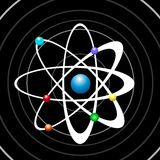 Atomgalax Royaltyfri Fotografi