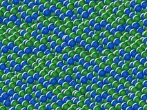 Atomi Fotografie Stock Libere da Diritti